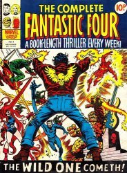 Marvel UK's Complete Fantastic Four Issue # 4