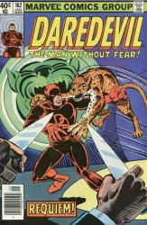 Marvel Comics's Daredevil Issue # 162