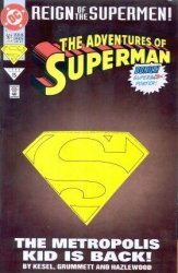 DC Comics's The Adventures of Superman Issue # 501