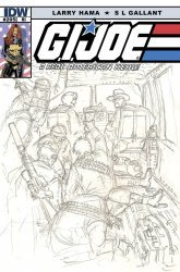 IDW Publishing's G.I. Joe: A Real American Hero Issue # 205ri