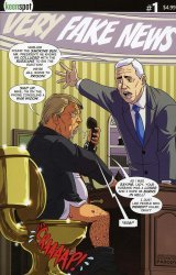 Keenspot Entertainment's Trump's Titans Issue # 2c