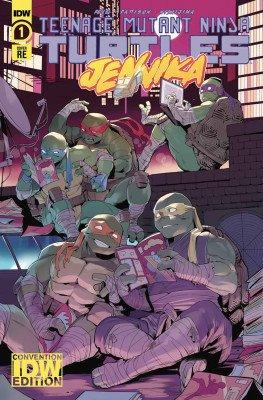 Jennika #1-3 COMPLETE SET IDW Teenage Mutant Ninja Turtles ALL As ALL 1sts