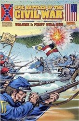 Historical Souvenir Co.'s Epic Battles of the Civil War Issue # 1
