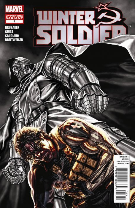 Winter Soldier Issue # 6 (Marvel Comics)