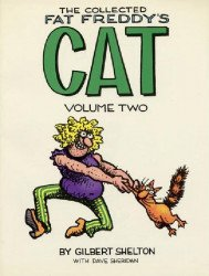 Rip Off Press's Collected Fat Freddy's Cat Soft Cover # 2