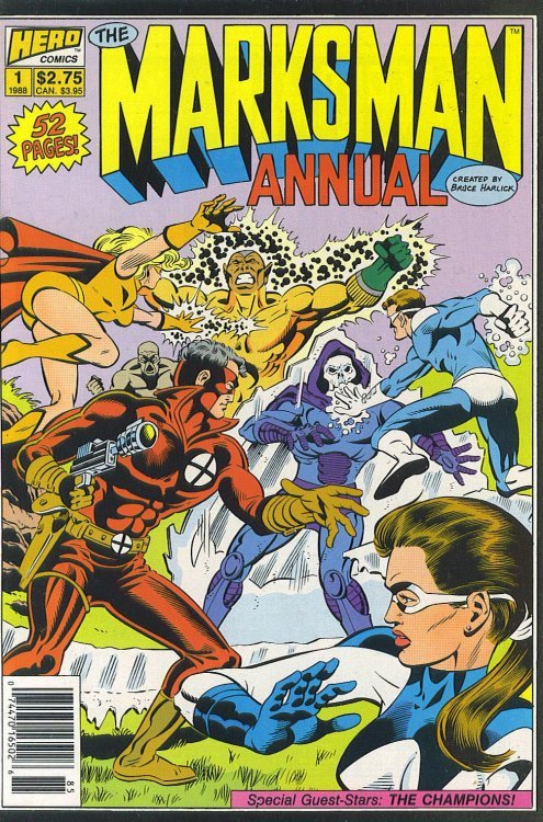 The Marksman Annual 1 (Hero Comics/Hero Graphics ...