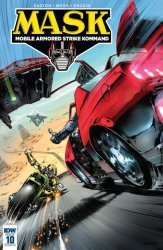 IDW Publishing's M.A.S.K.: Mobile Armored Strike Kommand Issue # 10ri