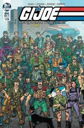 IDW Publishing's G.I. Joe: A Real American Hero Issue # 271b