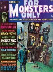 Major Magazines's Cracked's For Monsters Only Issue # 3