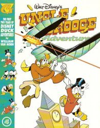 Gladstone's Uncle Scrooge Adventures in Color by William Van Horn Hard Cover # 4