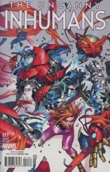 Marvel's The Uncanny Inhumans Issue # 11c