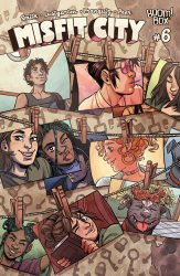 BOOM! Studios's Misfit City Issue # 6