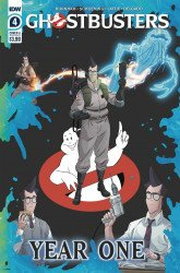 IDW Publishing's Ghostbusters: Year One Issue # 4