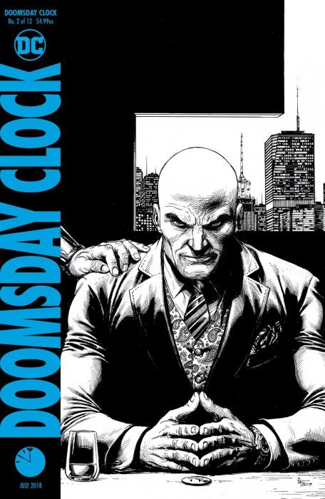 Doomsday Clock Issue 2 2nd Print Dc Comics