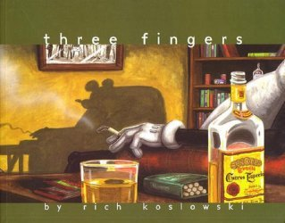 Top Shelf Productions's Three Fingers Soft Cover # 1