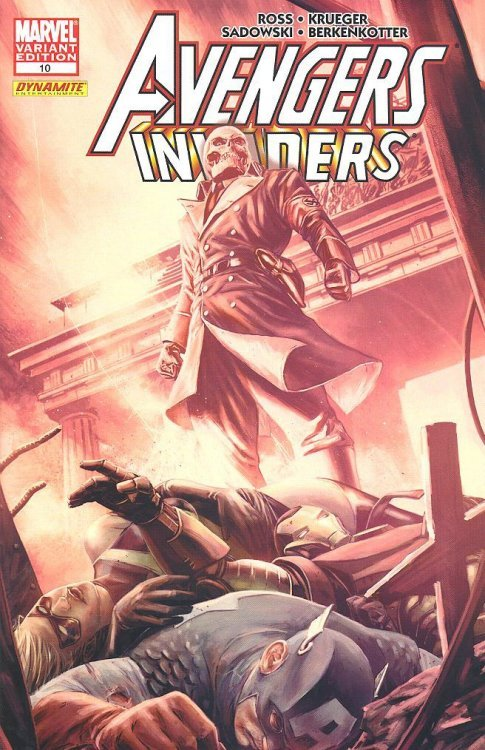 Marvel Comicss Avengers Invaders Issue 10b