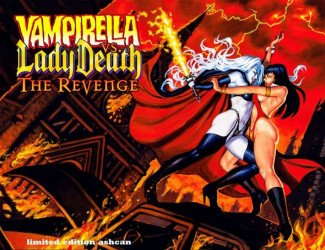 Harris Comics's Vampirella Special vs lady death