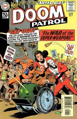 Silver Age Doom Patrol Issue 1 Dc Comics
