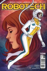Titan Comics's Robotech Issue # 5