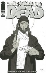 Image Comics's The Walking Dead Issue # 92blind bag-c