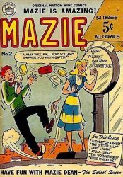 Nation-Wide Publishers's Mazie Issue # 2