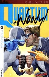 Valiant Entertainment's Quantum & Woody Issue # 1nycc