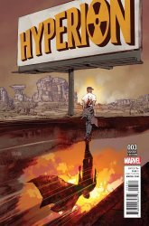 Marvel's Hyperion Issue # 3b