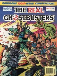 Marvel UK's The Real Ghostbusters Issue # 100