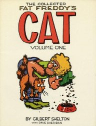 Rip Off Press's Collected Fat Freddy's Cat Soft Cover # 1