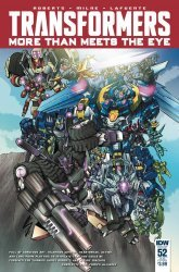 IDW Publishing's Transformers: More Than Meets the Eye Issue # 52sub