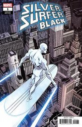 Marvel Comics's Silver Surfer: Black Issue # 1c
