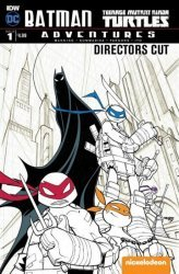 IDW Publishing's Batman / Teenage Mutant Ninja Turtles Adventures Issue # 1directors cut