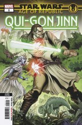 Marvel Comics's Star Wars: Age Of Republic - Qui-Gon Jinn Issue # 1 - 2nd print