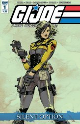 IDW Publishing's G.I. Joe: A Real American Hero - Silent Option Issue # 1b