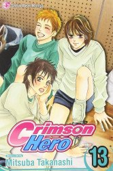 Shojo Beat Manga's Crimson Hero TPB # 13