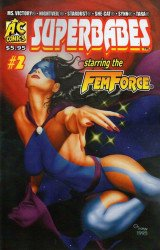 AC Comics's Superbabes Comics Issue # 2b