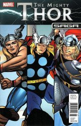Marvel Comics's Mighty Thor Saga Issue # 1b