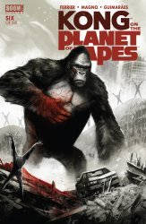 BOOM! Studios's Kong on the Planet of the Apes Issue # 6
