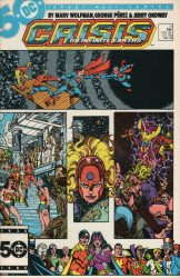 DC Comics's Crisis on Infinite Earths Issue # 11