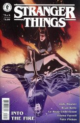 Dark Horse Comics's Stranger Things: Into the Fire Issue # 2b