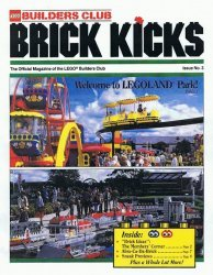 LEGO Systems's LEGO Builders Club: Brick Kicks Issue # 3
