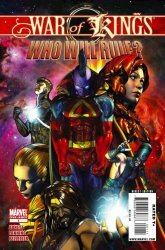Marvel Comics's War of Kings: Who Will Rule? Issue # 1