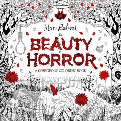 IDW Publishing's Beauty of Horror: Goregeous Coloring Book Soft Cover I