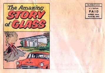 Chrysler Motor Corp.'s The Amazing Story of Glass Issue nn