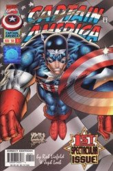 Marvel Comics's Captain America Issue # 1wizard