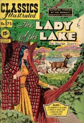 Gilberton Publications's Classics Illustrated #75: The Lady of the Lake Issue # 3