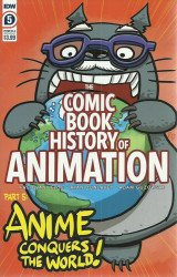 IDW Publishing's Comic Book History of Animation Issue # 5