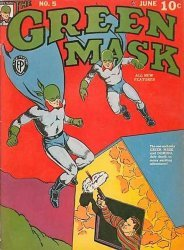 Fox Feature Syndicate's The Green Mask Issue # 5