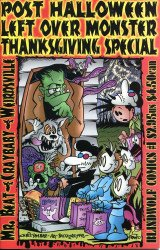 Blind Wolf Comics's MR. BEAT/CRAYBABY/WEIRDSVILLE: Post Halloween Left Over Monster Thanksgiving Special Special # 1