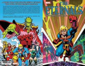 Marvel Comics's Eternals: The Dreaming Celestial Saga TPB # 1
